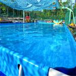 室外充气游泳池