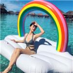 彩虹充气浮具