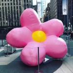 粉色花朵气模