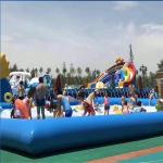 儿童乐园充气水池