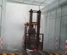 淮安饲料厂车辆消毒通道案例