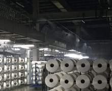 吴江盛虹纤维厂喷雾加湿案例