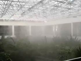 格尔木国家电网温室大棚加湿