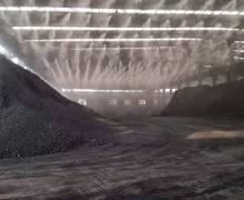 山东龙山碳素车间喷雾降尘