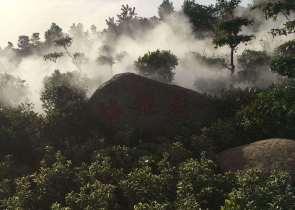 景区人工造雾