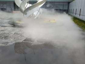 徐州贾汪售楼部喷雾景观