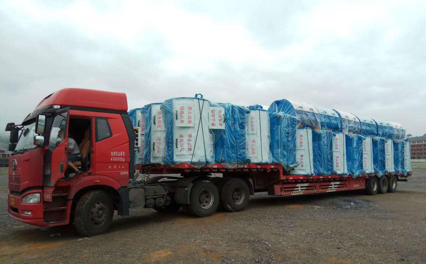 贵州德江县项目-可卸式移动垃圾箱