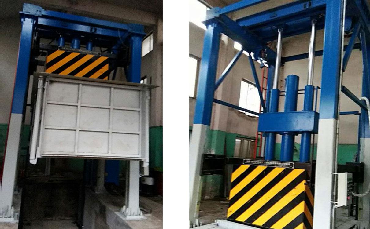 湖北利川县提升式垃圾压缩设备项目