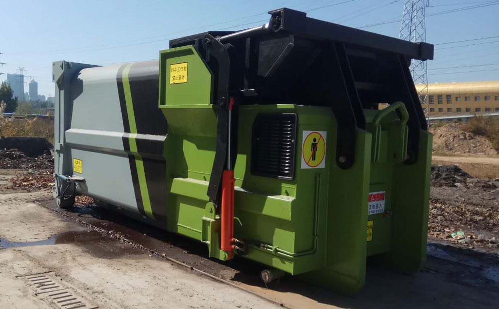 联体式垃圾转运站压缩设备