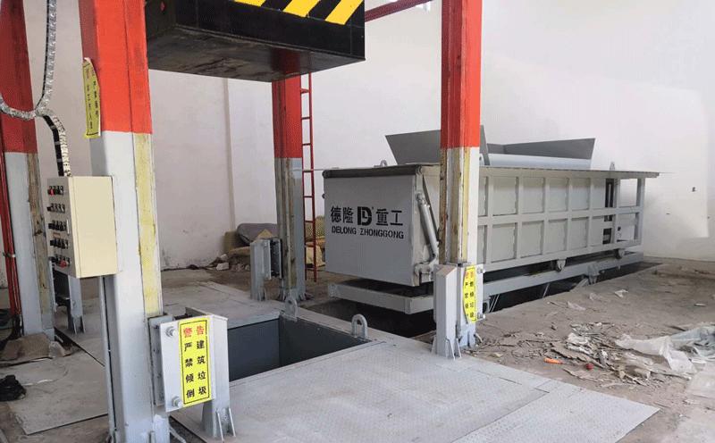 垃圾压缩中转站设备