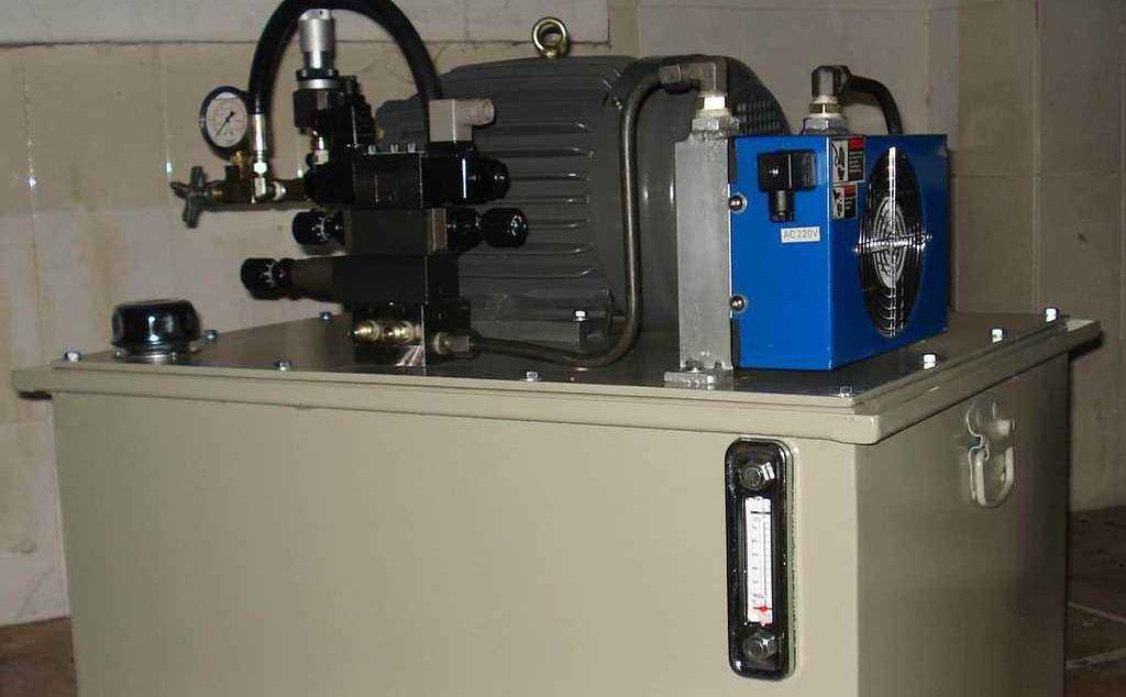 垃圾压缩机液压泵站出现噪音的原因