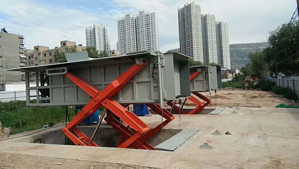 小区地埋式垃圾站