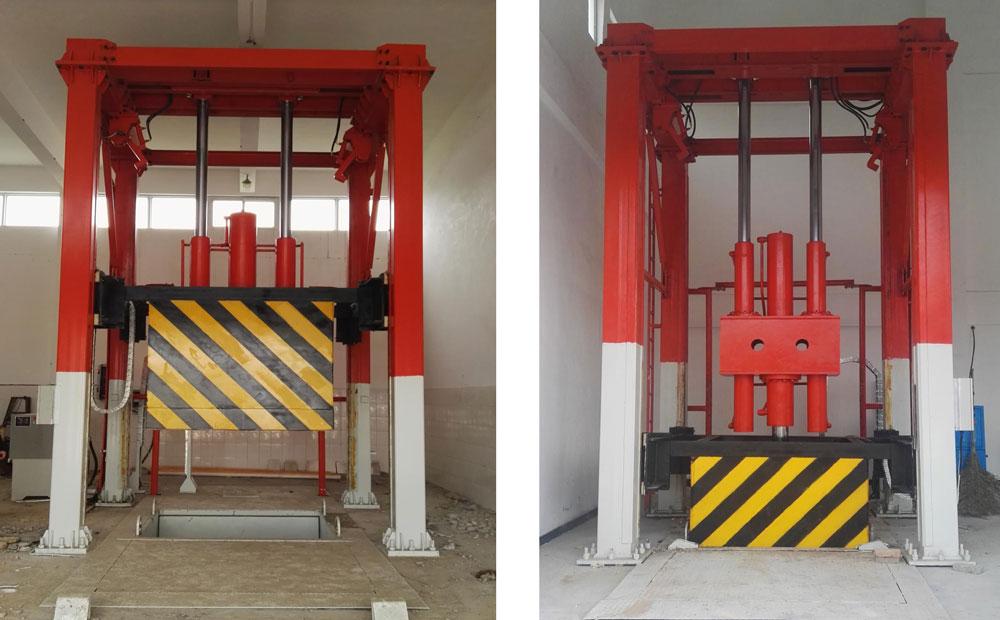 垂直式垃圾中转站设备