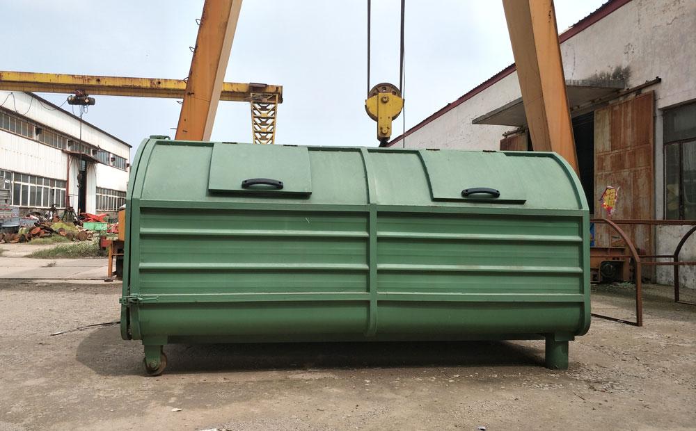 大型勾臂式垃圾箱
