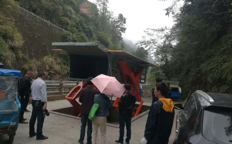 公共绿地小型垃圾压缩站