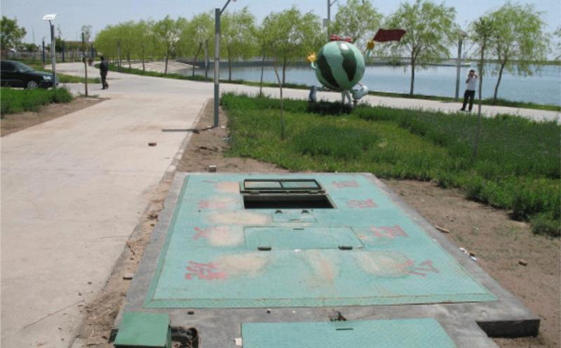 景观式地埋式垃圾站