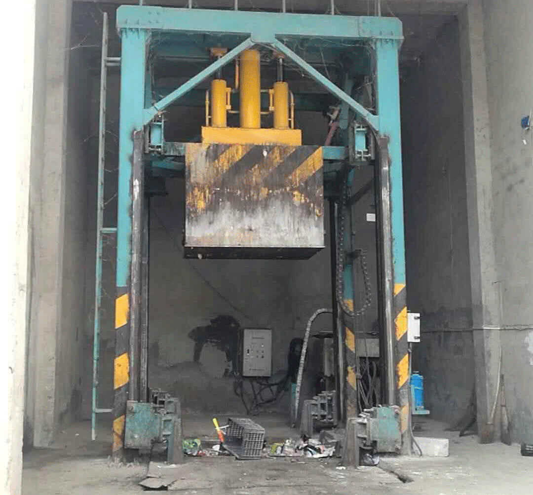 旧垃圾中转站维修提升改造