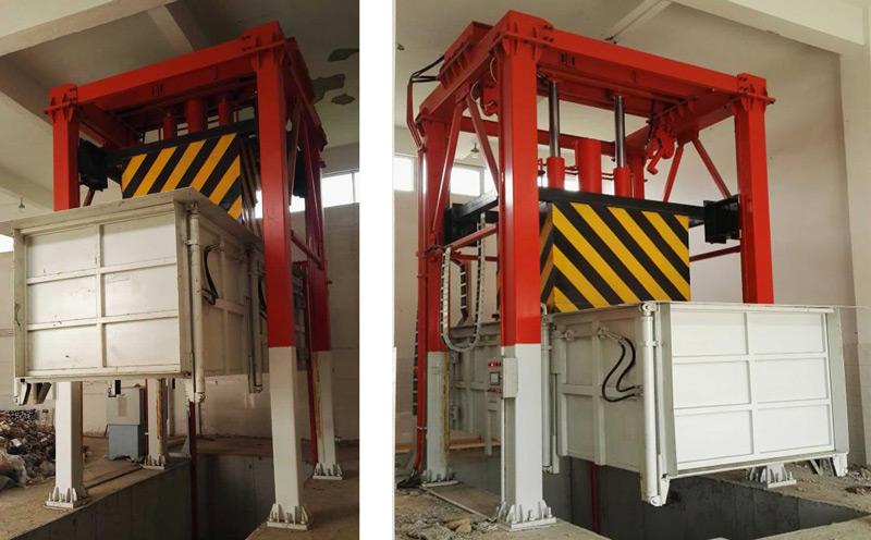 垂直式垃圾压缩站垂直式垃圾压缩站的维护保养