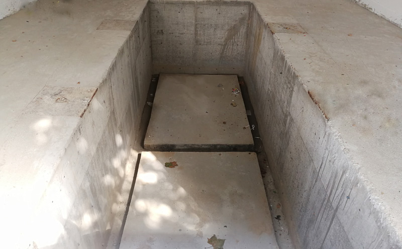 地埋式垃圾站两种设备的基坑不同之处