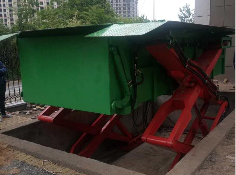 地埋式垃圾中转站