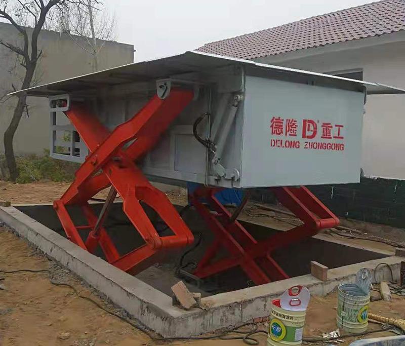 地埋式垃圾站图片
