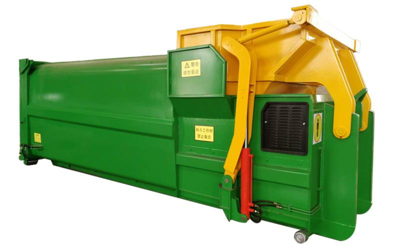 移动式垃圾压缩机图片