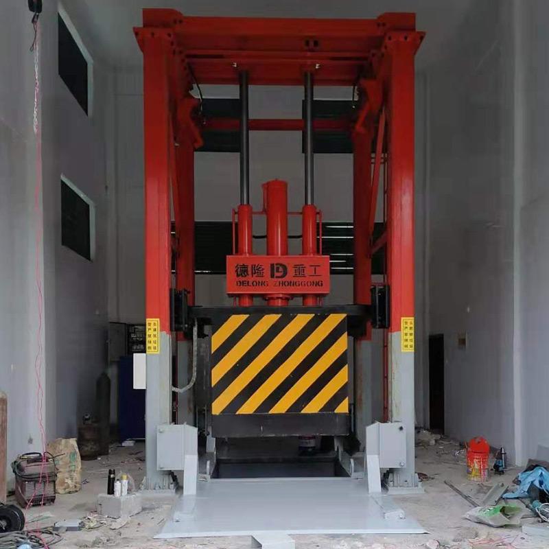 四柱式垂直垃圾压缩机