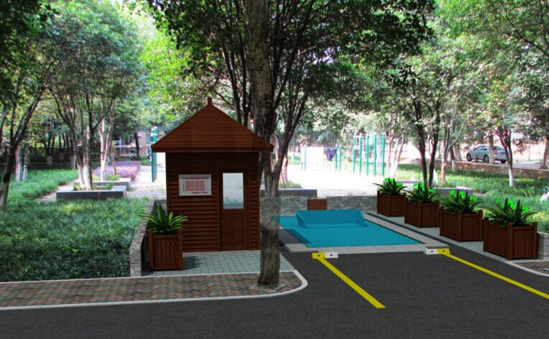 公园景观式地埋垃圾站设备