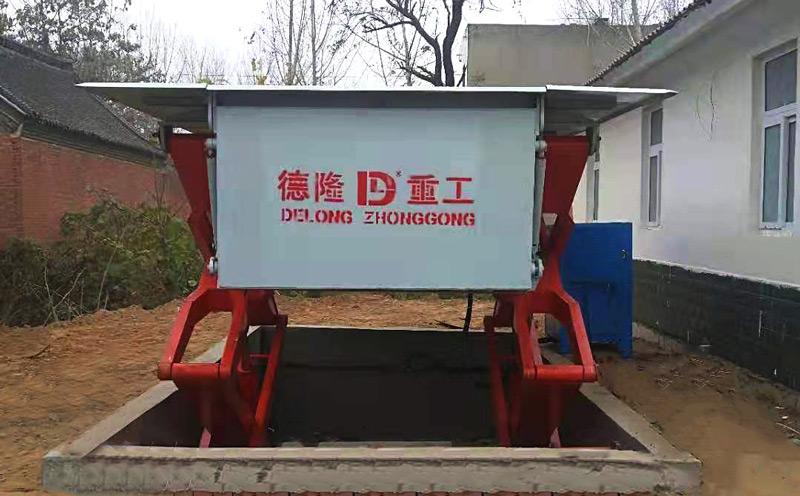 地埋式压缩垃圾站适用于农村、村庄、乡村