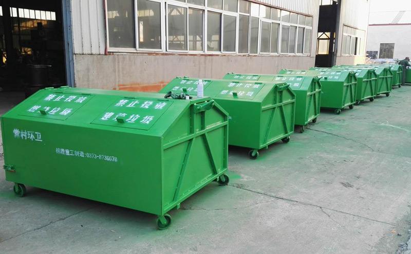 勾背式垃圾箱适用于公园、景区、小区