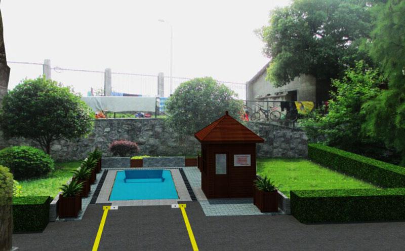 地埋式垃圾压缩站可用于室外、户外型