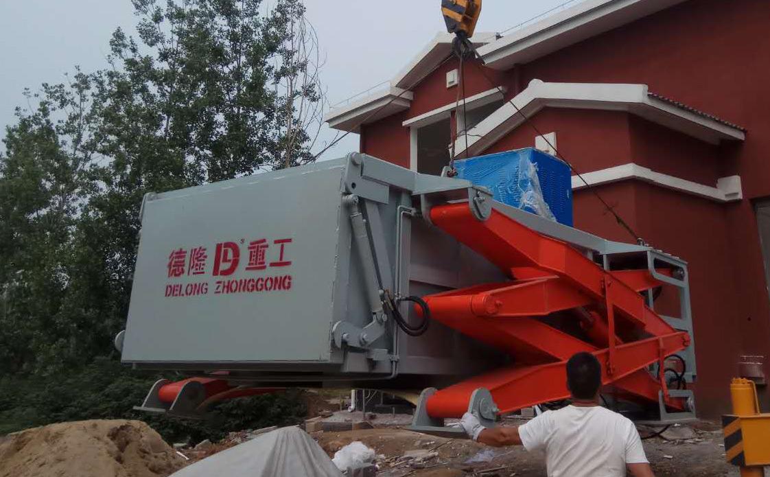 地埋式垃圾中转站设备厂家推荐