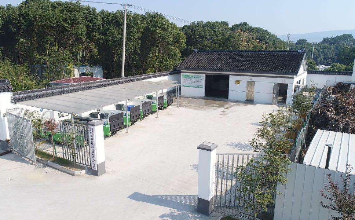 农村建设垃圾处理站的作用