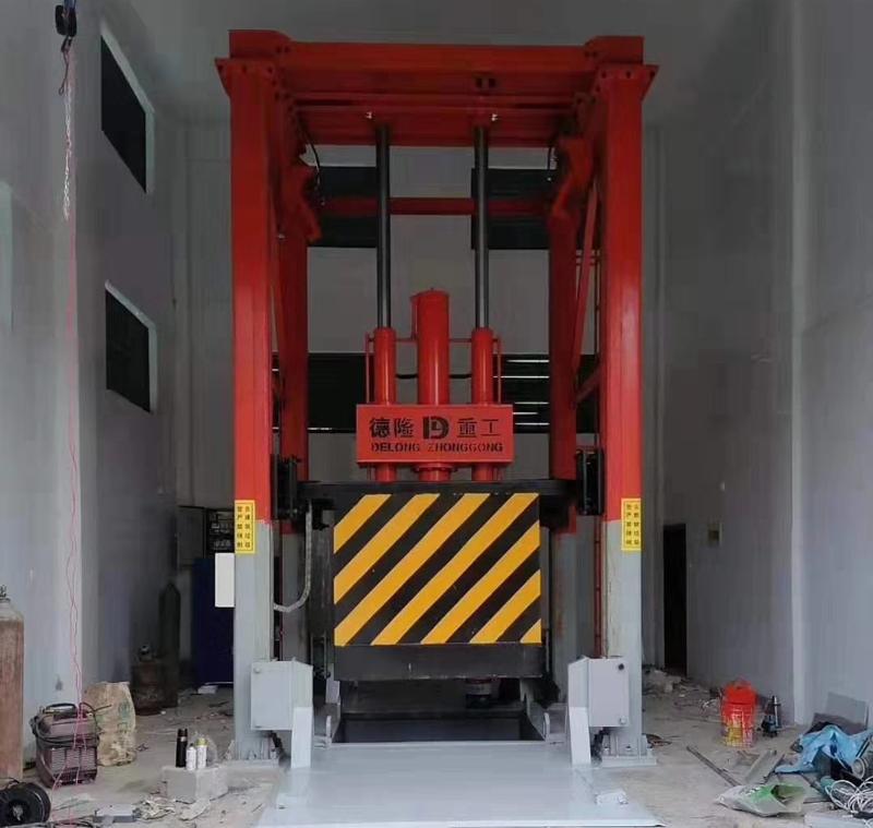 8吨垂直压缩垃圾中转站