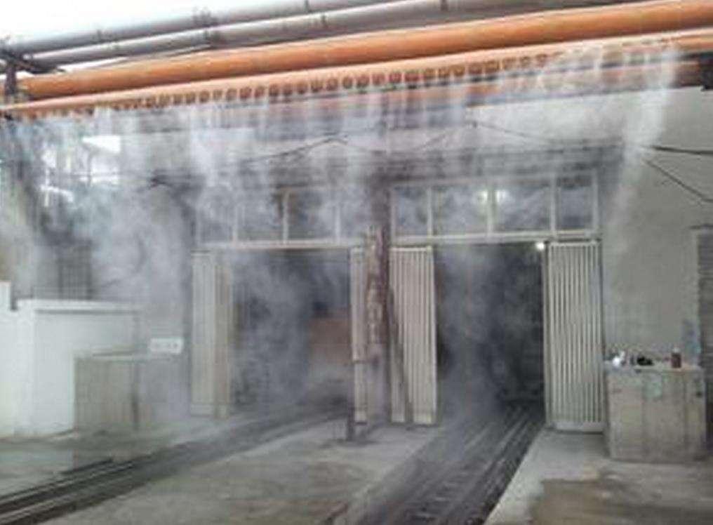 喷淋除臭降尘系统