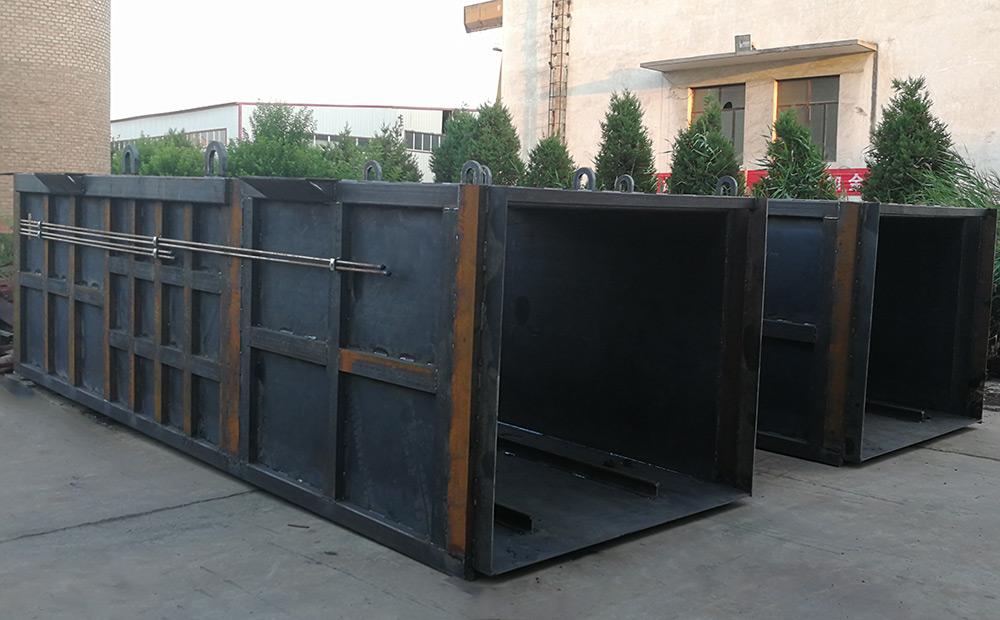 地埋式垃圾压缩设备压缩箱体