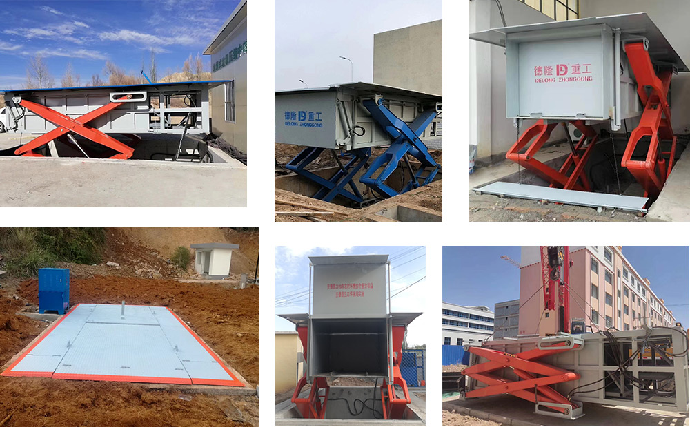 6立方地埋式垃圾站客户案例
