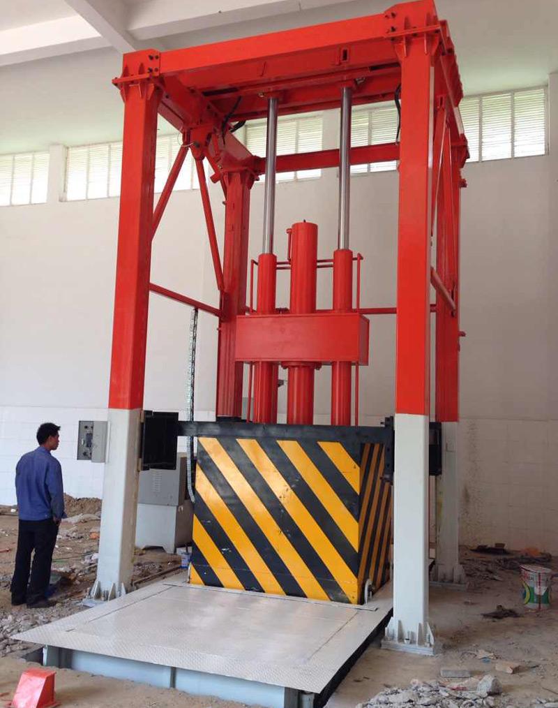 垂直式垃圾压块机