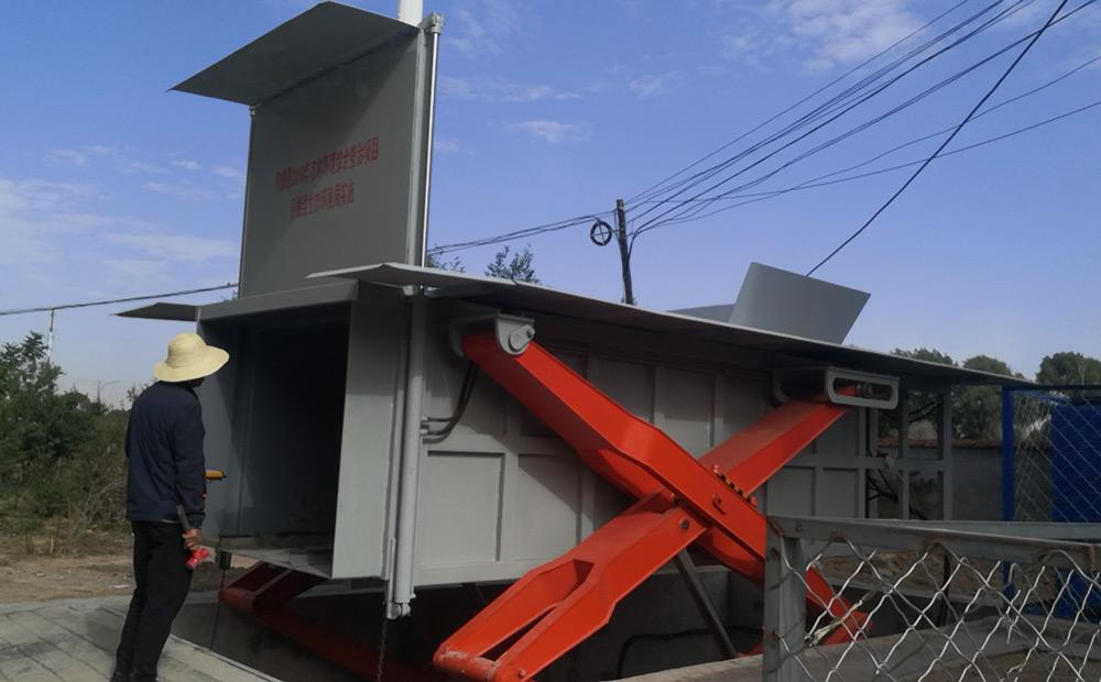 地埋式水平压缩垃圾中转站设备
