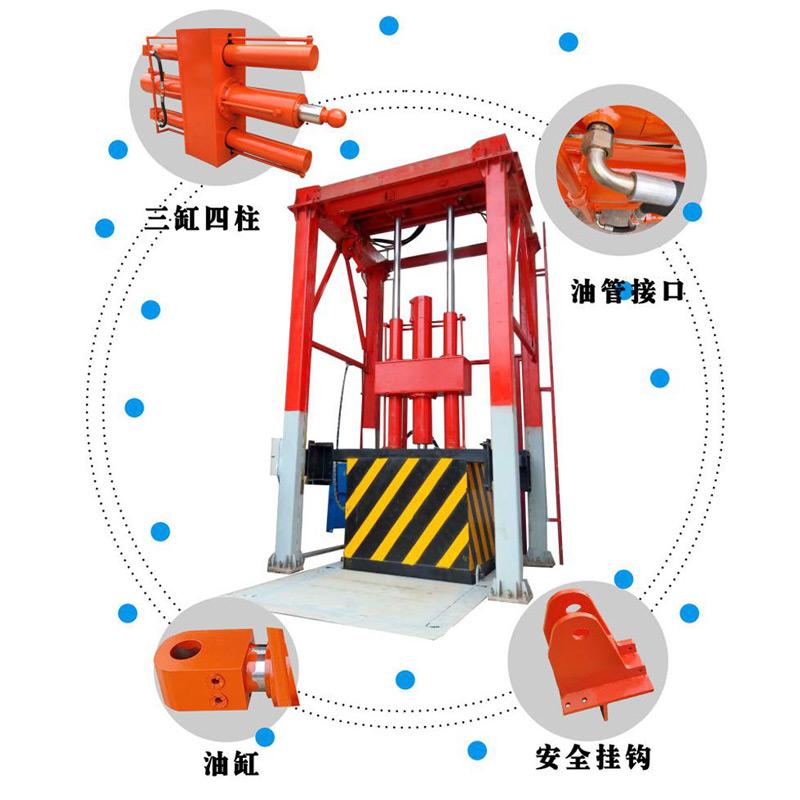 立式垃圾压缩机压缩装置
