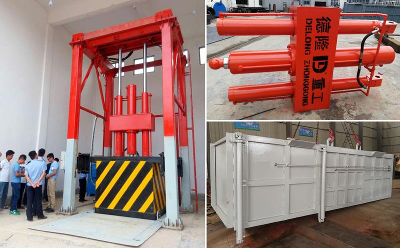 提升式垃圾转运站压缩设备