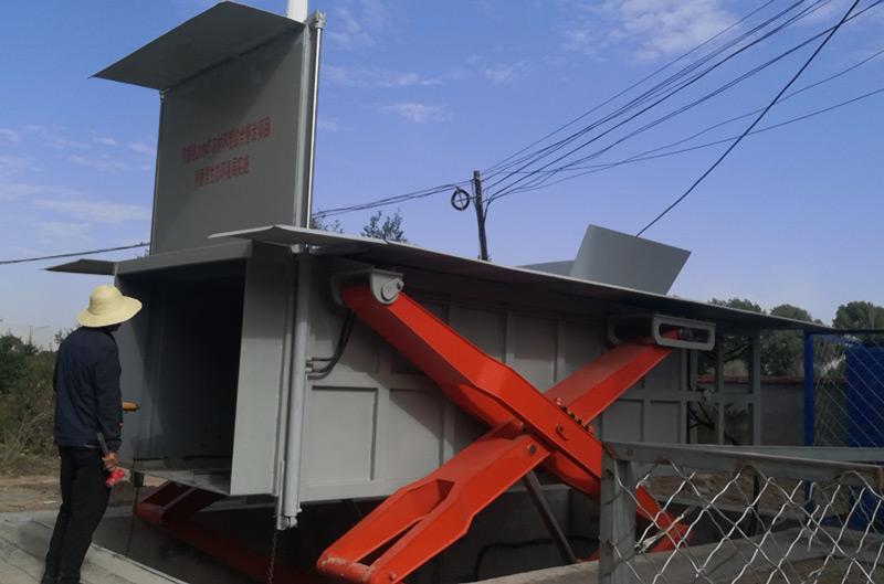 小区垃圾处理站压缩设备