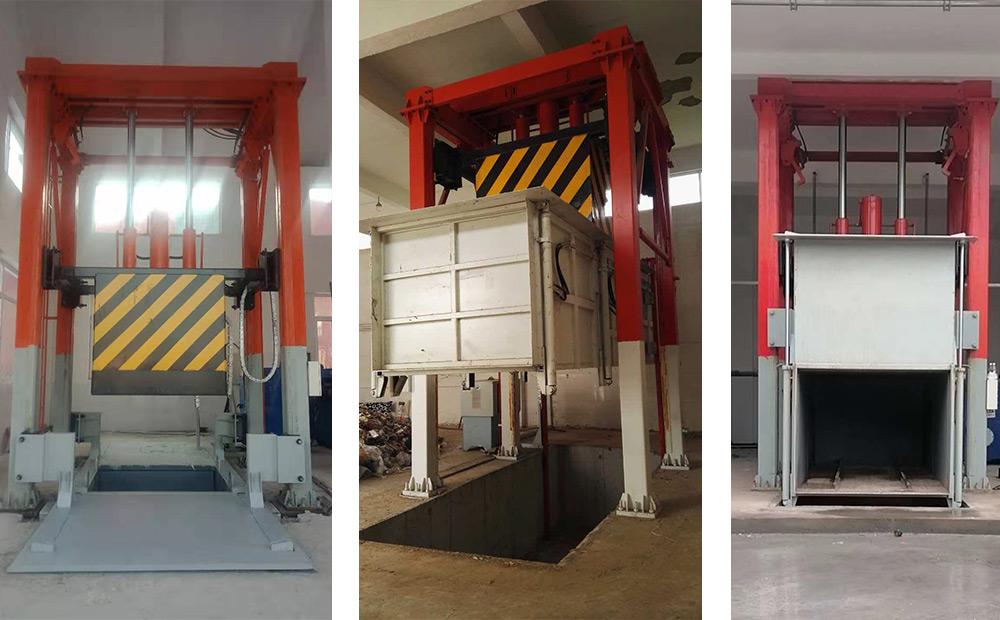 垃圾中转站垂直压缩机设备高度