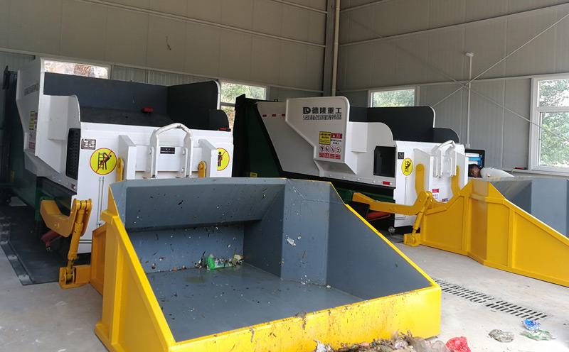 移动式垃圾压缩转运箱