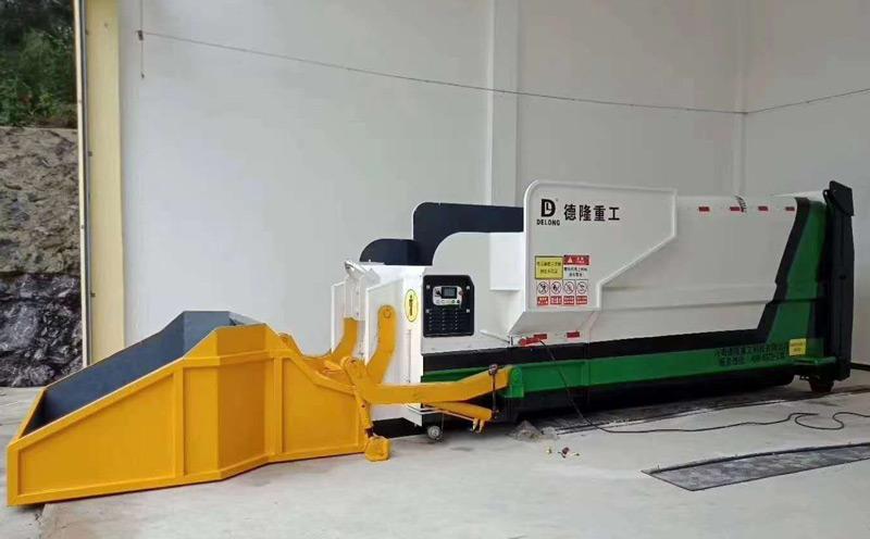 专业为建筑工程企业提供垃圾中转站压缩设备
