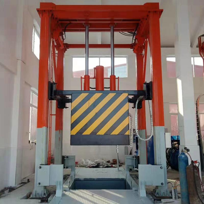 垂直压缩式垃圾中转站机器