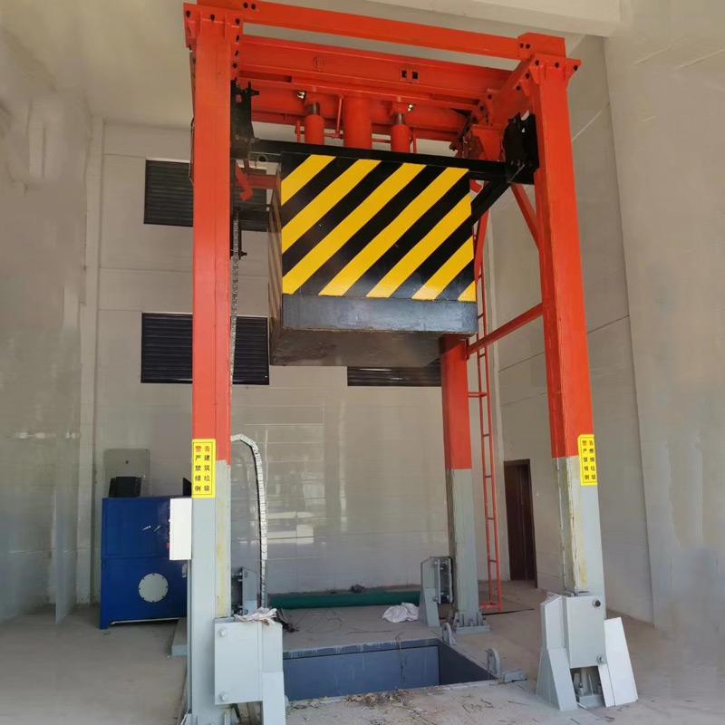 垃圾中转站压缩设备(垂直三缸四柱式)