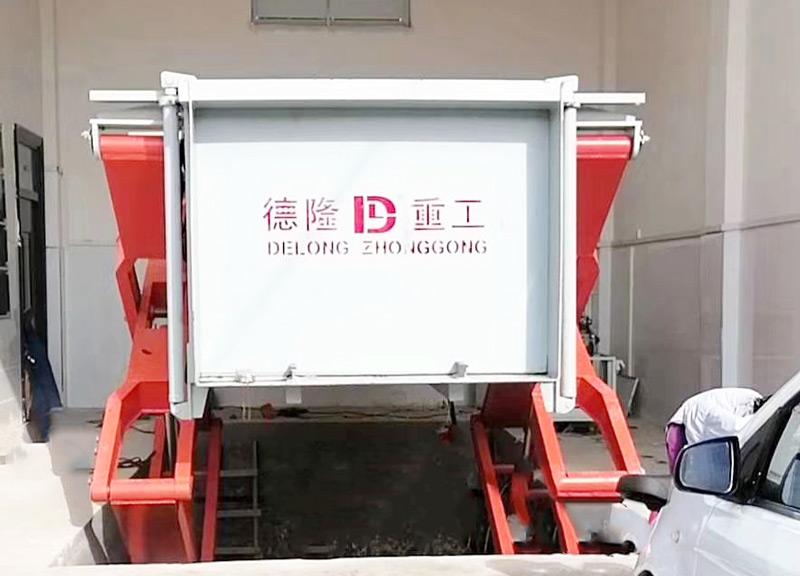 地埋式垃圾站压缩设备