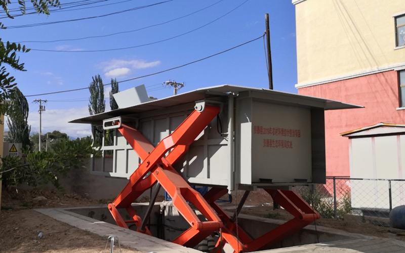 农村人居环境整治项目-垃圾转运站设备