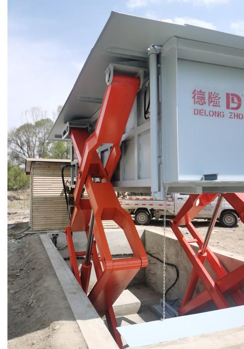 10立方地埋式垃圾站举升绞架